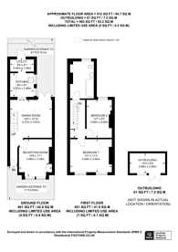 Large floorplan for Byron Road, Wealdstone, HA3