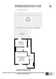 Large floorplan for Clapton, Clapton, E5