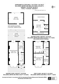 Large floorplan for Dunster Avenue, Morden Park, SM4