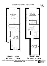 Large floorplan for Pitfield Way, Neasden, NW10