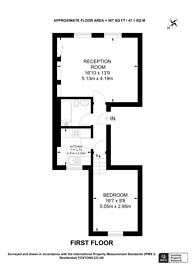 Large floorplan for Battersea Park Road, Battersea, SW11