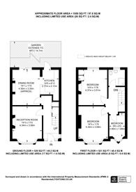 Large floorplan for Riverway, Palmers Green, N13