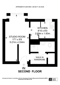 Large floorplan for Spencer Mews, Barons Court, W6