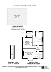 Large floorplan for Carson Road, Canning Town, E16