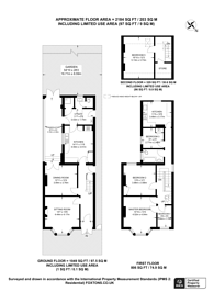 Large floorplan for Moreton Road, South Croydon, CR2