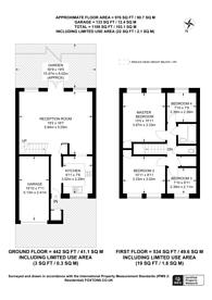 Large floorplan for St Albans Road, West Sutton, SM1