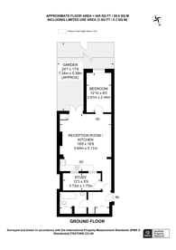 Large floorplan for Anerley Road, Crystal Palace, SE19