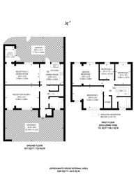 Large floorplan for Dyers Lane, Putney, SW15