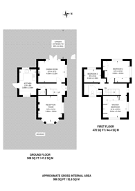 Large floorplan for The Crossways, Heston, TW5