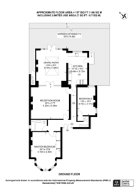 Large floorplan for Coolhurst Road, Crouch End, N8