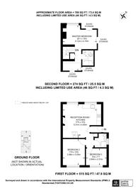 Large floorplan for Waldenshaw Road, Forest Hill, SE23