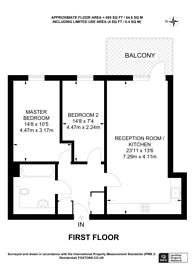Large floorplan for Salton Square, Limehouse, E14
