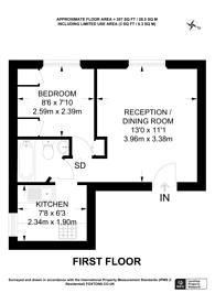Large floorplan for Church Road, Richmond, TW10