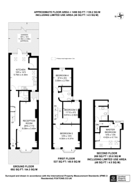 Large floorplan for Woodville Road, Thornton Heath, CR7
