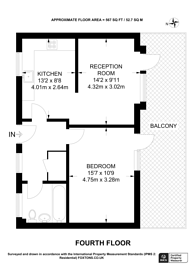 Large floorplan for Hogarth Crescent, Croydon, CR0
