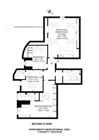 Large floorplan for Manor Road, Ealing, W13