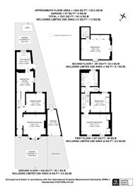 Large floorplan for Dagnall Park, South Norwood, SE25
