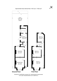 Large floorplan for Ilex Road, Willesden, NW10