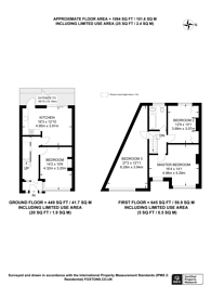 Large floorplan for Edenvale Road, Tooting, CR4