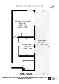 Large floorplan for Northwick Road, Alperton, HA0