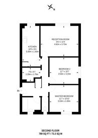 Large floorplan for Elephant and Castle, Elephant and Castle, SE17
