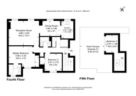 Large floorplan for Milner Street, Chelsea, SW3