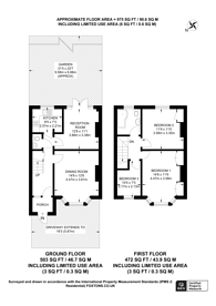 Large floorplan for St Margarets Avenue, South Harrow, HA2