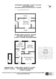 Large floorplan for Martin Drive, Northolt, UB5