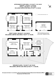 Large floorplan for Buxton Drive, New Malden, KT3