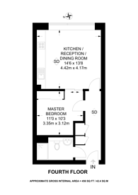 Large floorplan for Mapleton Road, Wandsworth, SW18