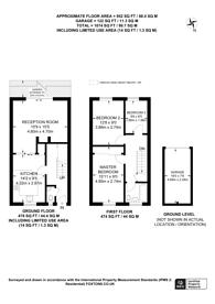 Large floorplan for Rye Close, Park Barn, GU2
