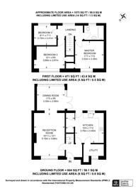 Large floorplan for Georgelands, Ripley, GU23, Ripley, GU23