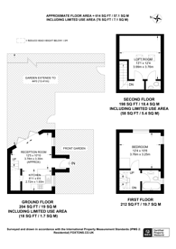 Large floorplan for Greenacre Close, Northolt, UB5