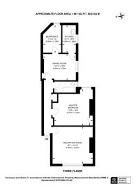 Large floorplan for Devonshire Road, Forest Hill, SE23