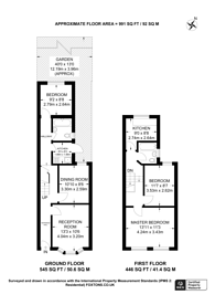 Large floorplan for Cann Hall Road, Leytonstone, E11
