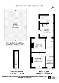 Large floorplan for Princess Road, Croydon, CR0
