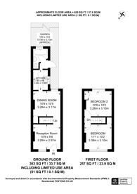 Large floorplan for Warren Road, Croydon, CR0