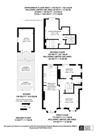 Large floorplan for Castlebar Park, W5, Ealing, W5