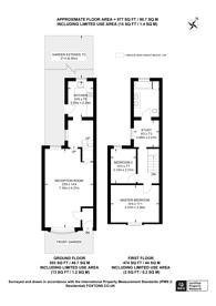 Large floorplan for Churchfields Road, Beckenham, BR3