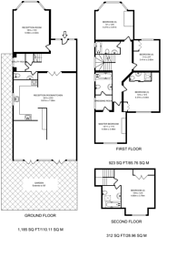 Large floorplan for Ravenscroft Avenue, Golders Green, NW11