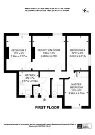 Large floorplan for Bath Terrace, SE1, Borough, SE1