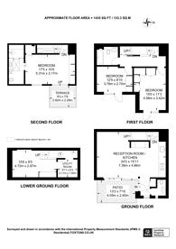 Large floorplan for Neeld Place, Maida Vale, W9
