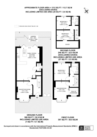 Large floorplan for Ancaster Crescent, New Malden, KT3