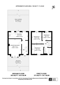Large floorplan for Wendover Road, Kidbrooke, SE9