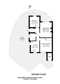 Large floorplan for Kersfield Road,, Putney, SW15