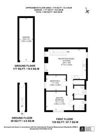 Large floorplan for Sime Close, Guildford, GU3