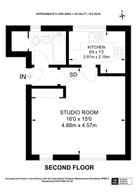 Large floorplan for Westmoreland Drive, Sutton, SM2