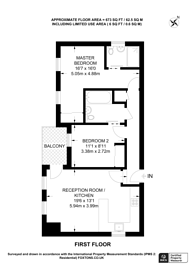 Large floorplan for Chessington Road, Ewell, KT19
