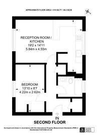 Large floorplan for Landridge Road, Parsons Green, SW6
