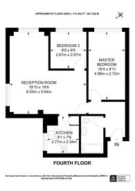 Large floorplan for Lower Addiscombe Road, Croydon, CR0